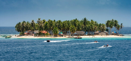 San Blas Sslands in Panama