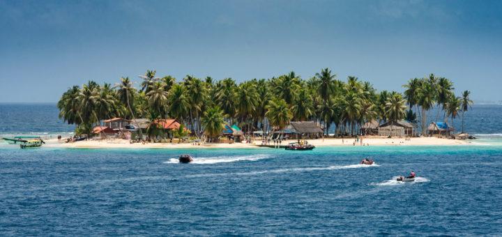 San Blas Sslands in Panama