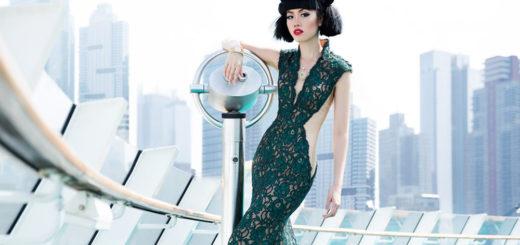 Jessica Minh Anh auf AIDAluna. Foto: AIDA Cruises