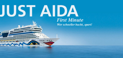 JUST AIDA First Minute. Foto: AIDA Cruises