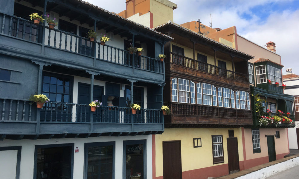 Balkonhäuser auf La Palma
