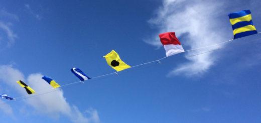Kreuzfahrt-Flaggen