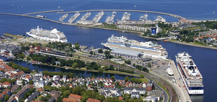 Kreuzfahrten ab Warnemünde. Foto: Rostock Port