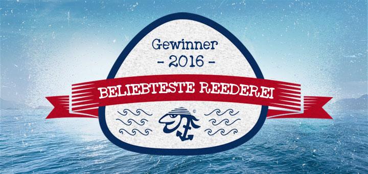 Beliebteste Kreuzfahrt-Reedereien 2016