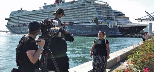 Dreharbeiten für die Doku-Serie Lust auf Meer für Servus TV