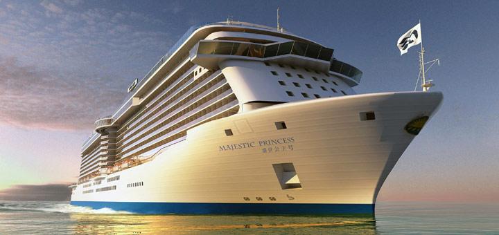 Majestic Princess. Foto: Pinrcess Cruises