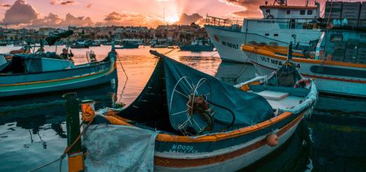 Marsaxlokk auf Malta