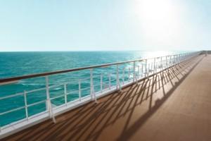 Außendeck der Mein Schiff 1. Foto: TUI Cruises GmbH