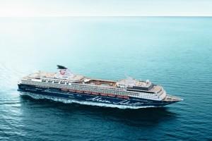 Mein Schiff 1 auf Kreuzfahrt. Foto: TUI Cruises
