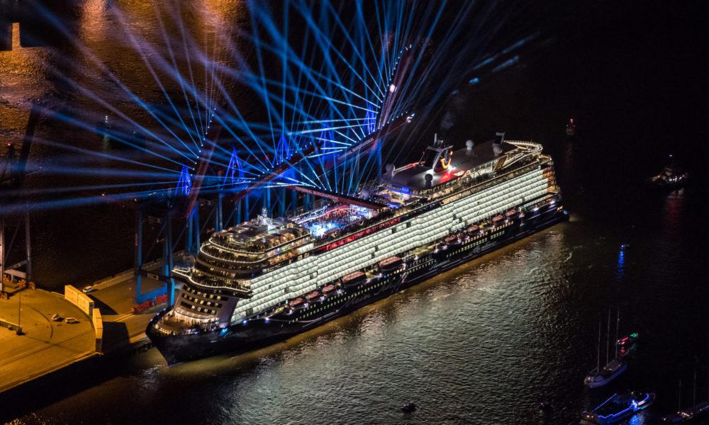 Mein Schiff 1 Taufe in Hamburg. Foto: TUI Cruises