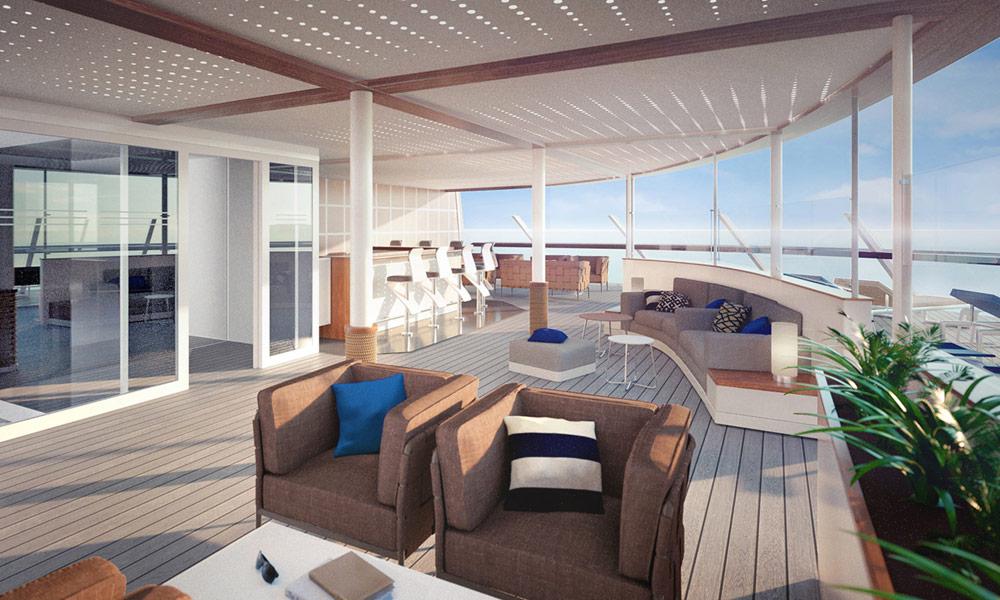 X-Sonnendeck auf der Mein Schiff 1. Foto: TUI Cruises