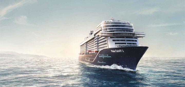 Mein Schiff ab Hamburg