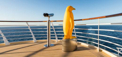 Aussicht auf Mein Schiff. Foto: TUI Cruises