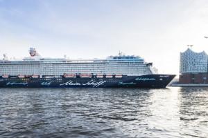 Mein Schiff 4 in Hamburg. Foto: TUI Cruises