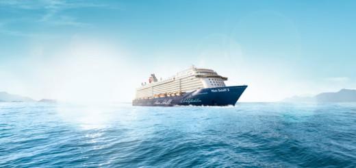 Mein Schiff 5 auf Kreuzfahrt. Foto: TUI Cruises