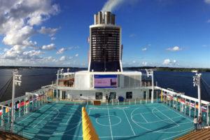 Mein Schiff 5 Arena auf Deck 14