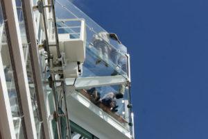 Mein Schiff 5 Blauer Balkon von unten