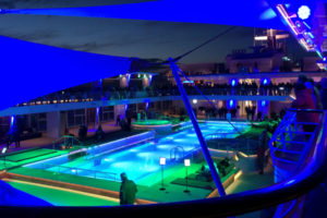Mein Schiff 5 Lichtshow