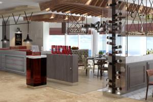 Osteria Pizza e Pasta auf Mein Schiff 5. Foto: TUI Cruises