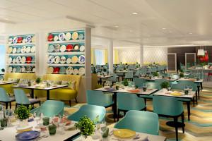 Restaurant Atlantik auf der Mein Schiff 5. Foto: TUI Cruises