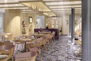 Restaurant Schmankerl auf Mein Schiff 5. Foto: TUI Cruises