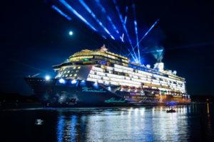 Mein Schiff 5 Taufe in Travemünde. Foto: TUI Cruises