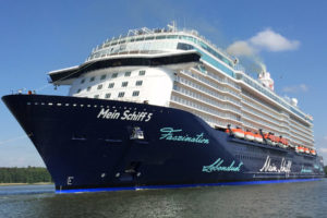 Mein Schiff 5 in Turku. Foto: TUI Cruises