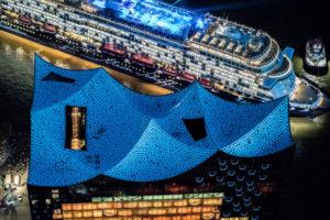 Mein Schiff 6 Taufe in Hamburg. Foto: Andreas Vallbracht