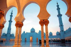 Mein Schiff in Abu Dhabi. Foto: TUI Cruises