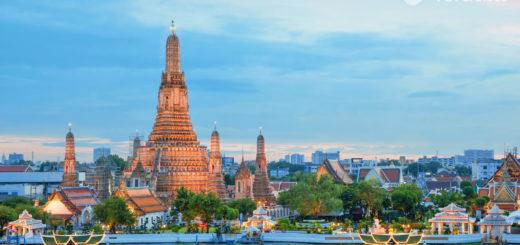 Mein Schiff in Bangkok. Foto: TUI Cruises