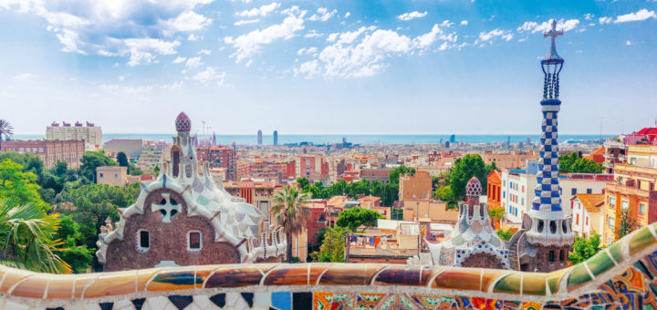 Mein Schiff in Barcelona