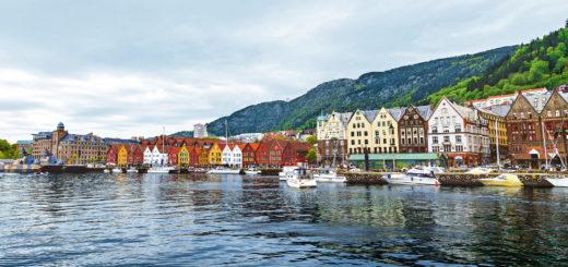 Mein Schiff in Bergen. Foto: TUI Cruises
