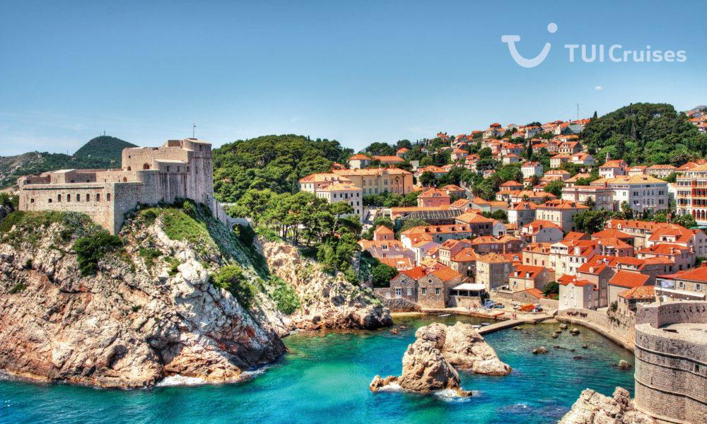 Mein Schiff in Dubrovnik. Foto: TUI Cruises