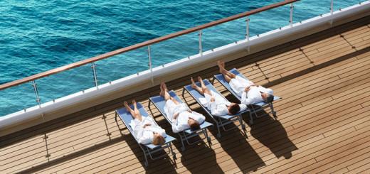 Entspannung auf Mein Schiff. Foto: TUI Cruises