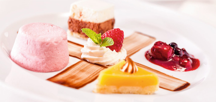 Dessert auf Mein Schiff. Foto: TUI Cruises