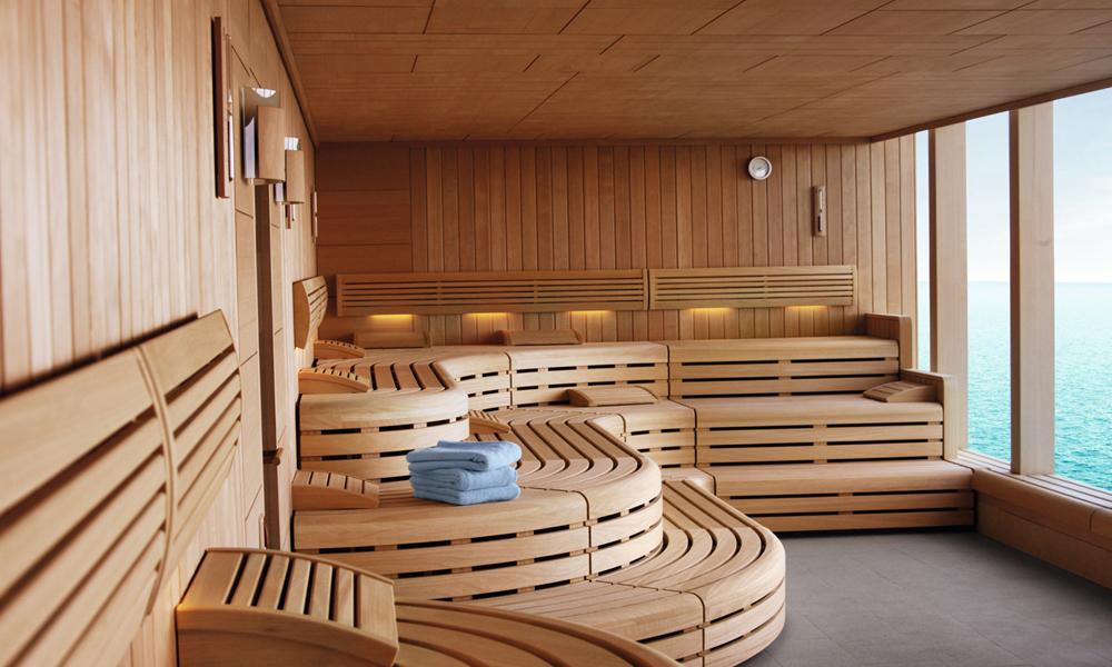 Finnische Sauna an Bord von Mein Schiff. Foto: TUI Cruises