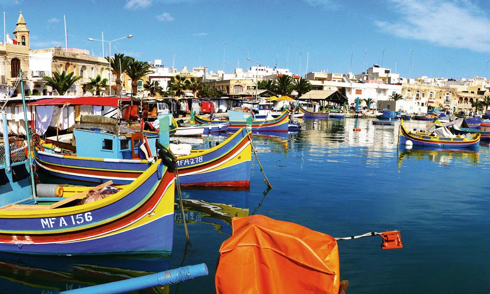 Mein Schiff auf Malta. Foto: TUI Cruises