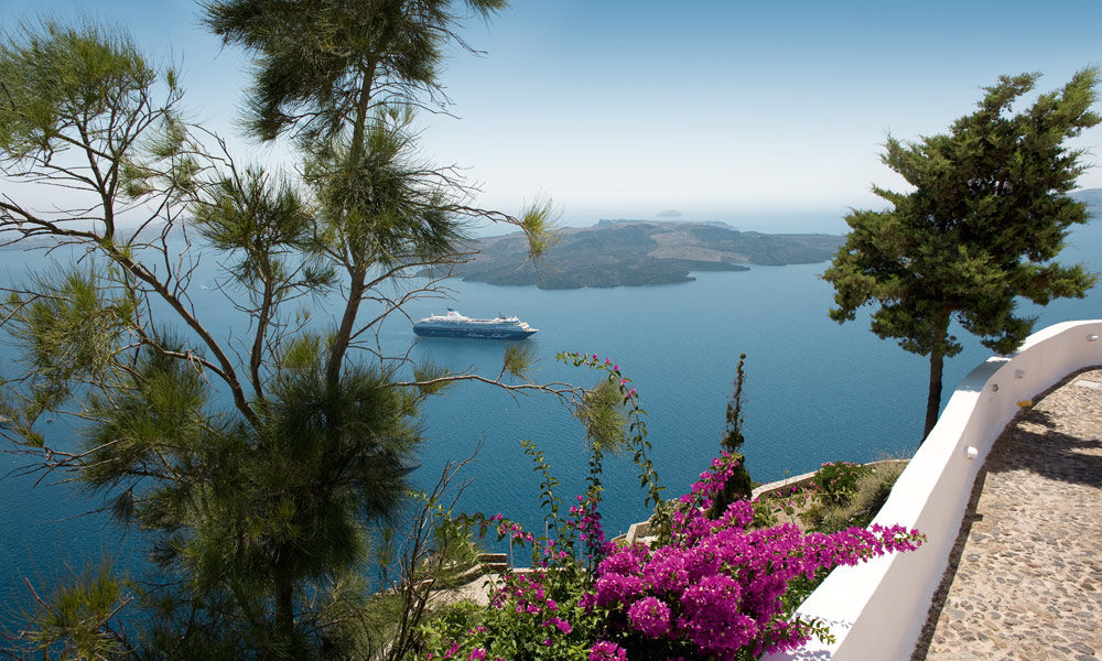 Mein Schiff in Griechenland. Foto: TUI Cruises