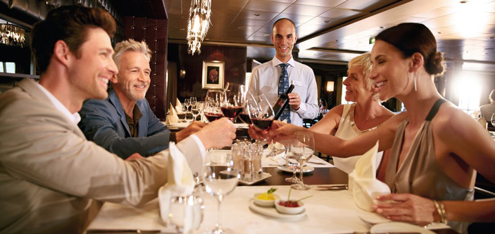 Restaurant auf Mein Schiff. Foto: TUI Cruises