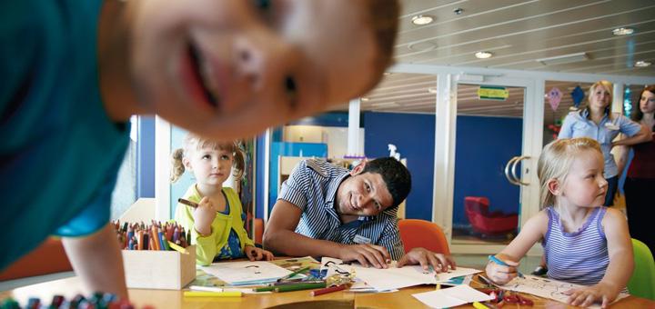 Kids Club auf Mein Schiff. Foto: TUI Cruises