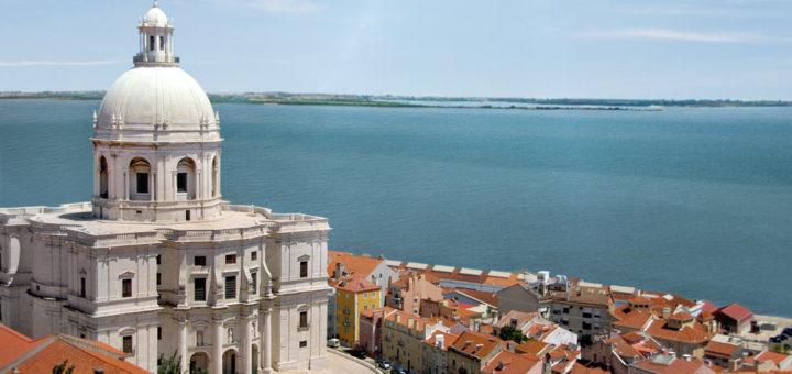 Mein Schiff in Lissabon, Portugal. Foto: TUI Cruises