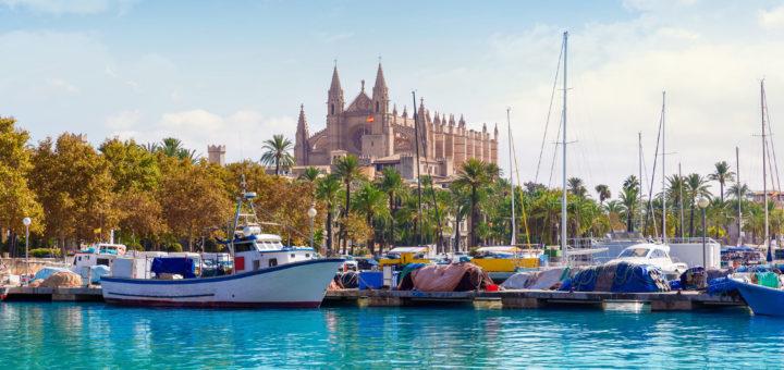 Mein Schiff auf Mallorca