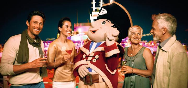 Nightlife auf dem Deck mit Capt'n Sharky auf Mein Schiff. Foto. TUI Cruises