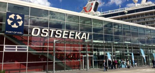 Mein Schiff am Ostseekai in Kiel