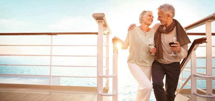 Mein Schiff als Paar genießen. Foto: TUI Cruises