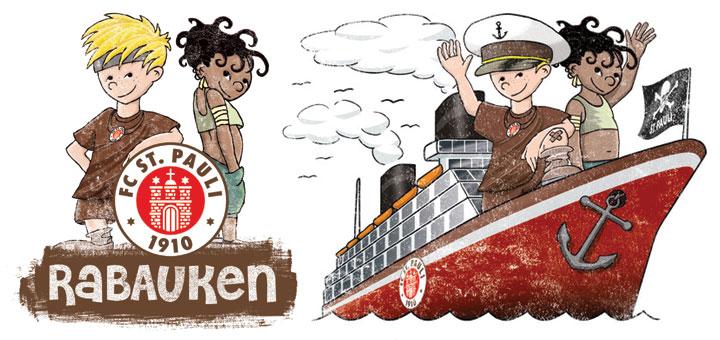 Fußballcamp St. Pauli Rabauken auf Mein Schiff