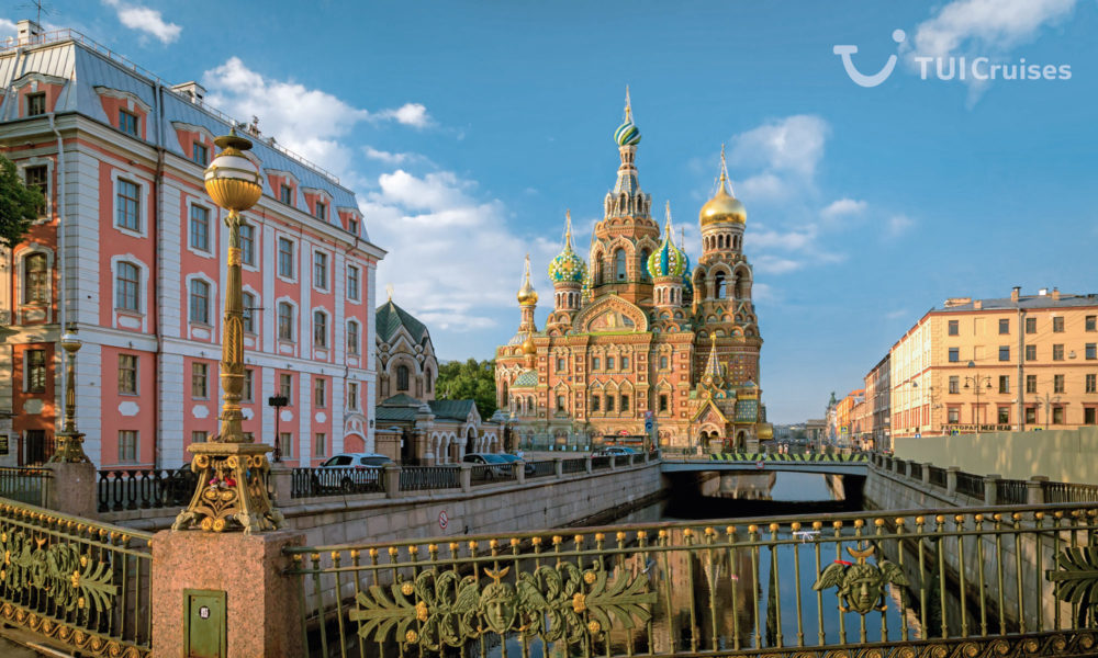 Mein Schiff in Sankt Petersburg. Foto: TUI Cruises