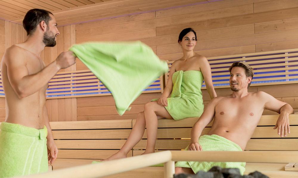 Mein Schiff Sauna. Foto: TUI Cruises