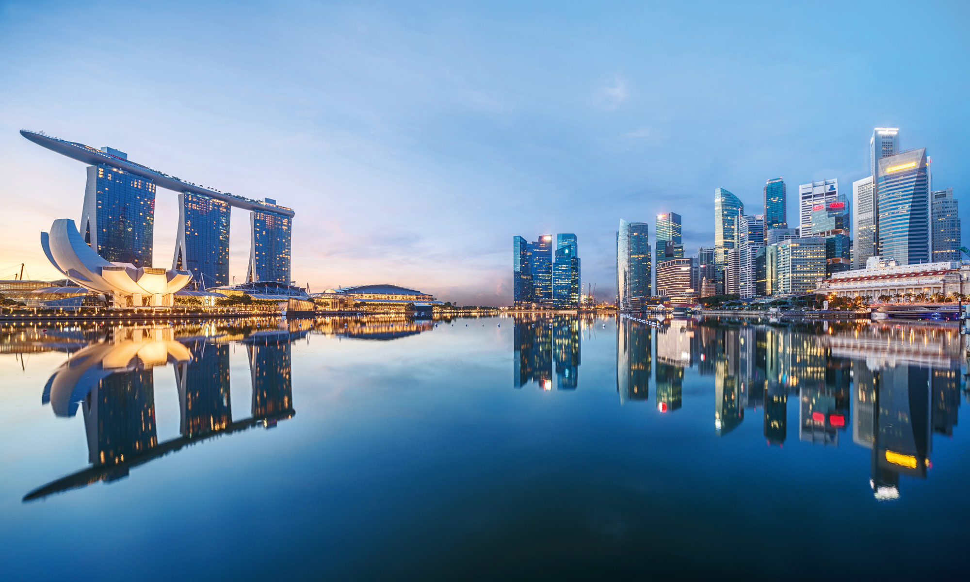Mein Schiff in Singapur. Foto: TUI Cruises