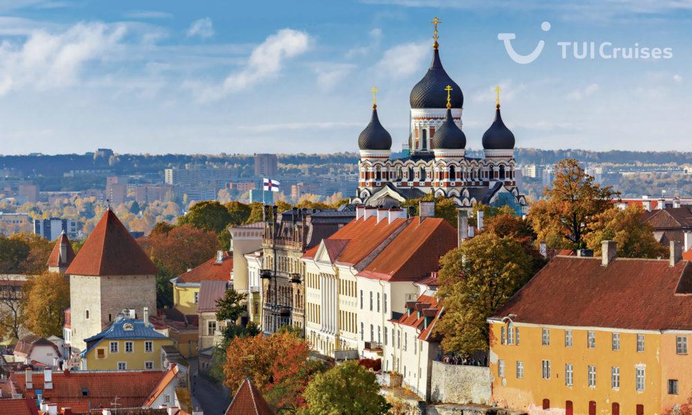 Mein Schiff in Tallinn. Foto: TUI Cruises